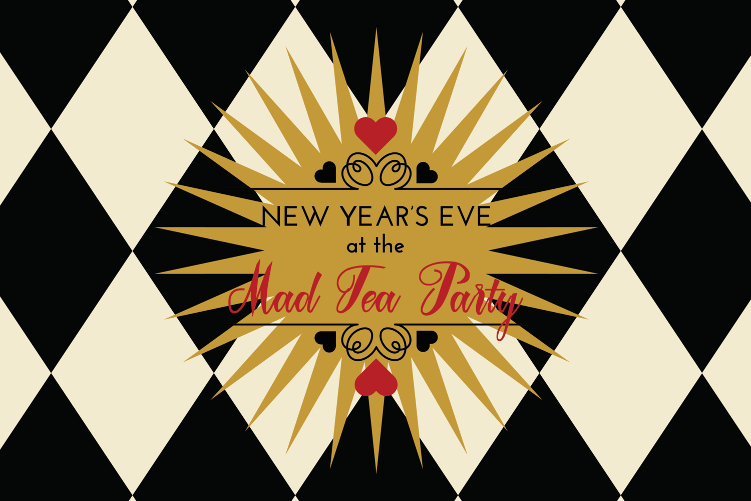 New Year's Eve at the Mad Tea Party