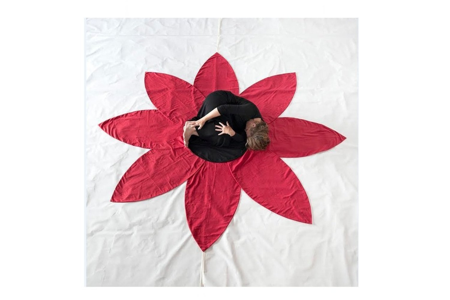 "Sherry Wiggins, _Flower /Flor_, Photography/Performance 24""x24"""