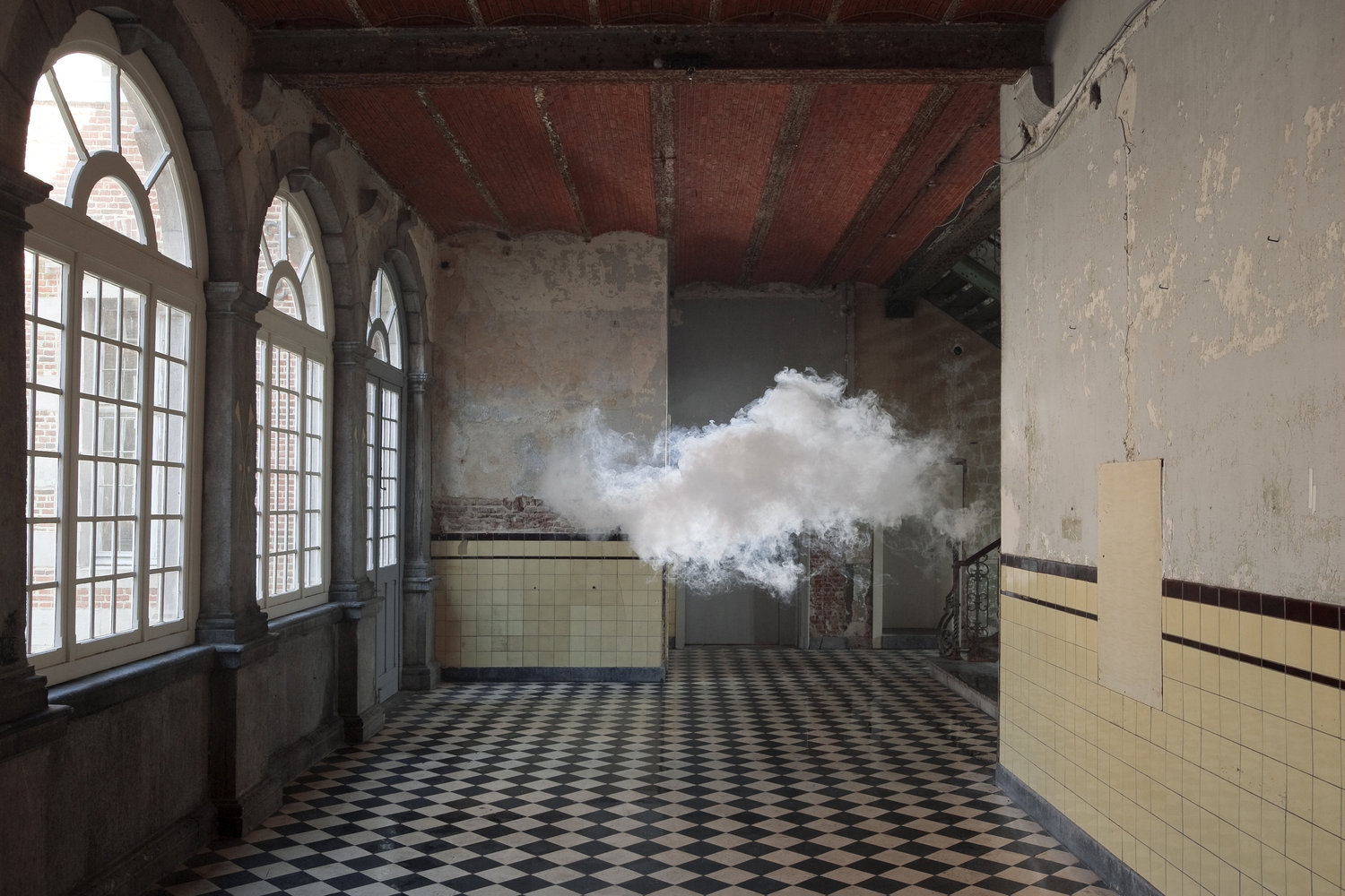 Berndnaut Smilde, _Nimbus D'Aspremont_, 2012, photo by Cassander Eeftinck Schattenkerk