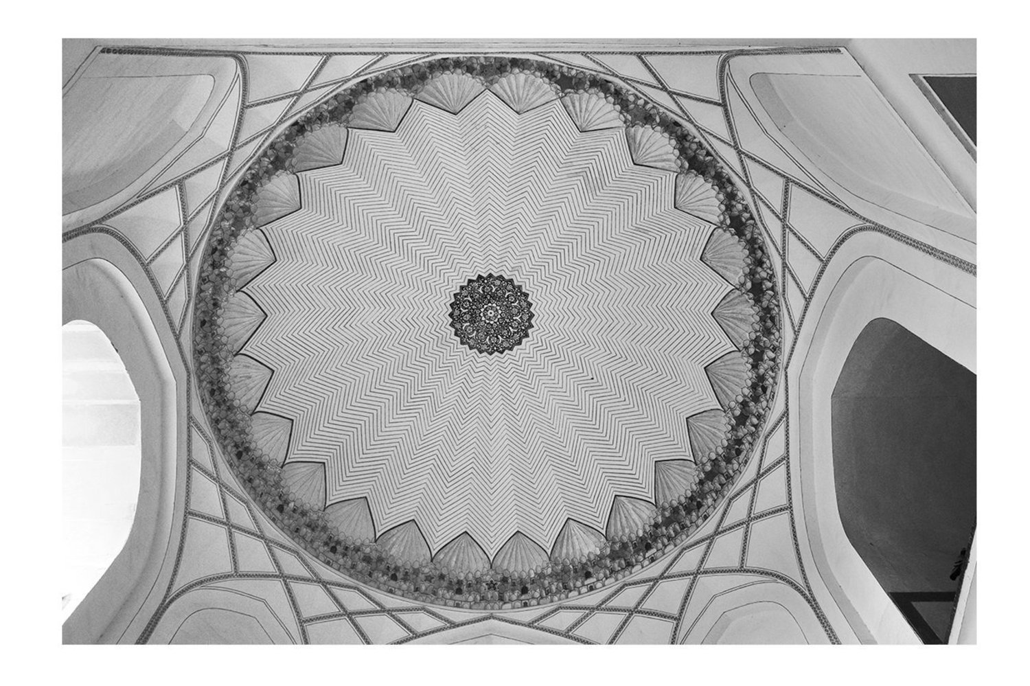 Sherry Wiggins, _Dome at Humayan's Tomb_