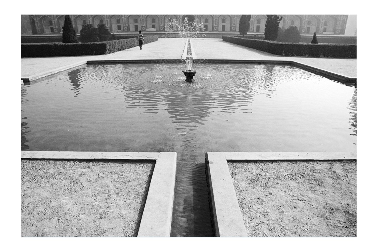 Sherry Wiggins, _Fountain at Humayan's Tomb_