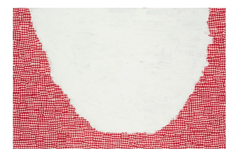 "_Valery_, 2009, Acrylic on Canvas, 20"" x 49"""