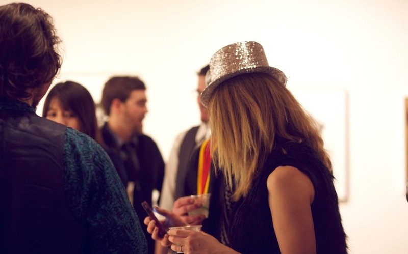 NYE at BMoCA, photo by Cornelia Peterson